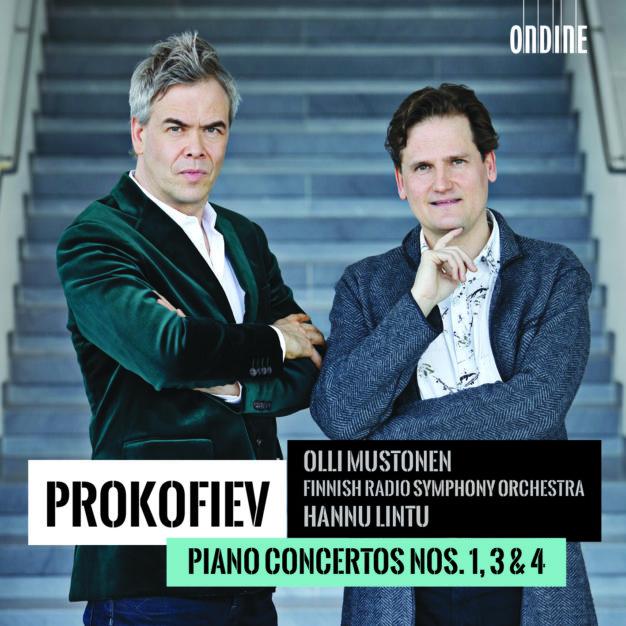 Sergei Prokofiev: Piano Concertos Nos. 1,3 & 4